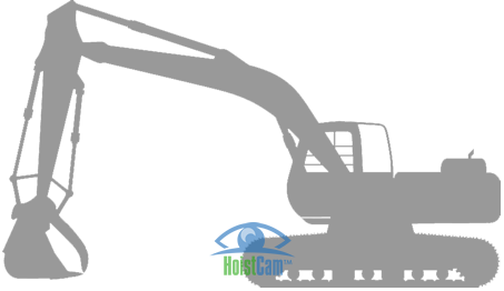 Hoistcam Excavator Camera System Wireless Camera For