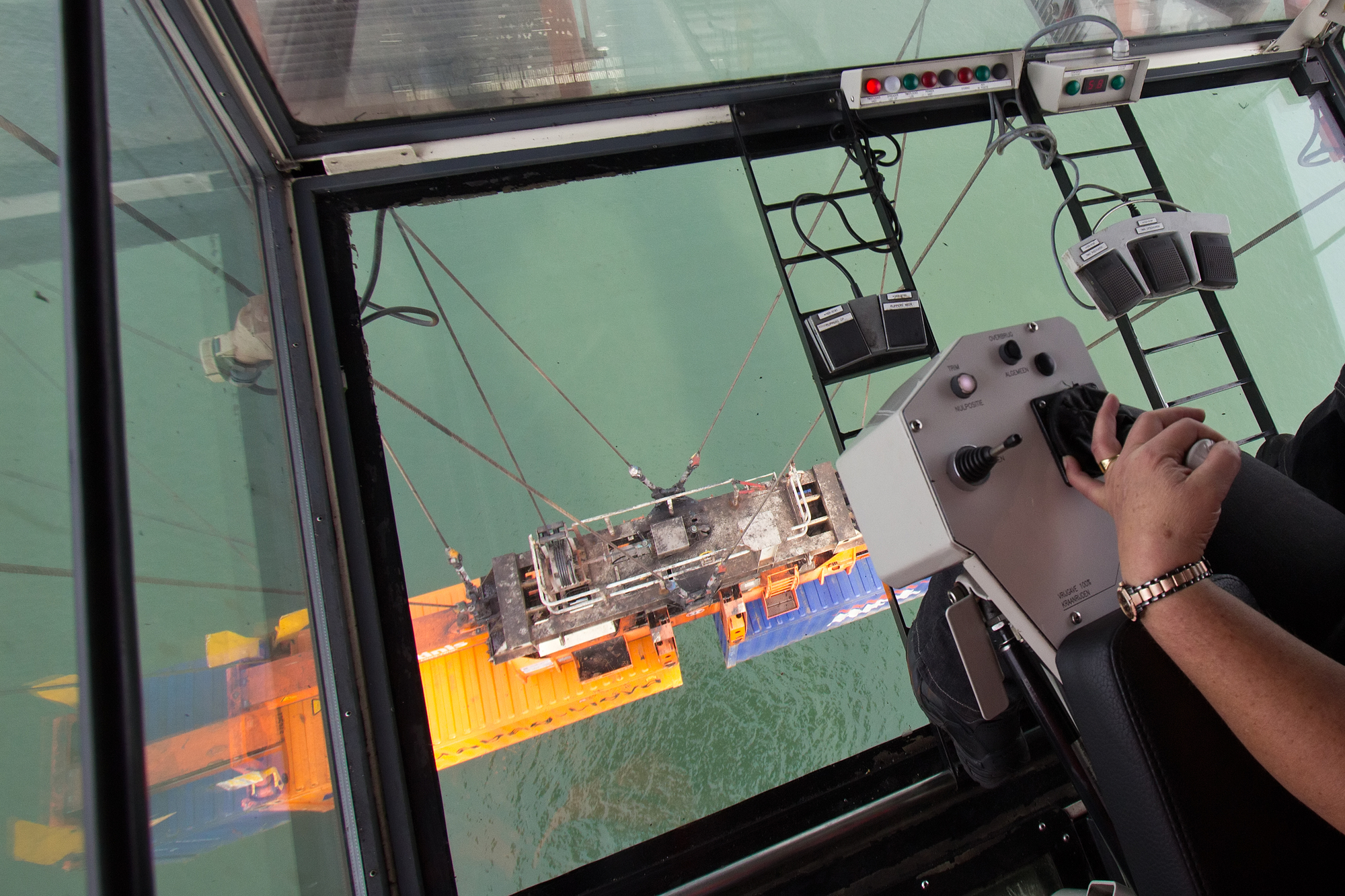 Cameras On Cranes Can Improve Communication Between