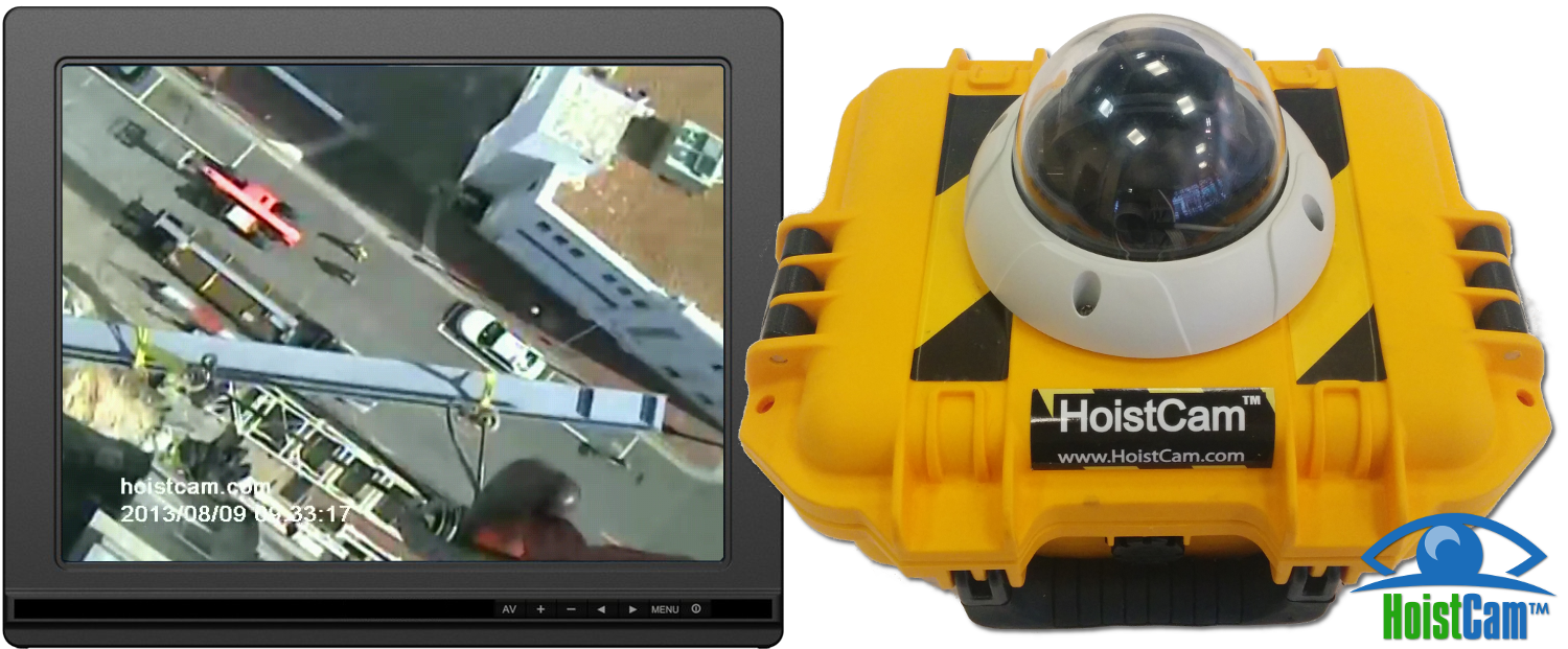 HoistCam Armored Dome with Monitor