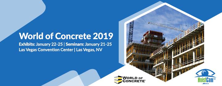 HoistCam by Netarus - World of Concrete 2019