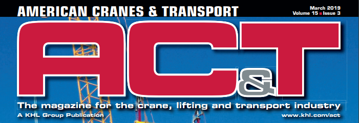 American Cranes and Transport - March 2019 Top Cover