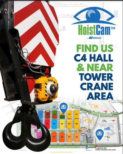 HoistCam by Netarus in Hall C4, Booth 527/I